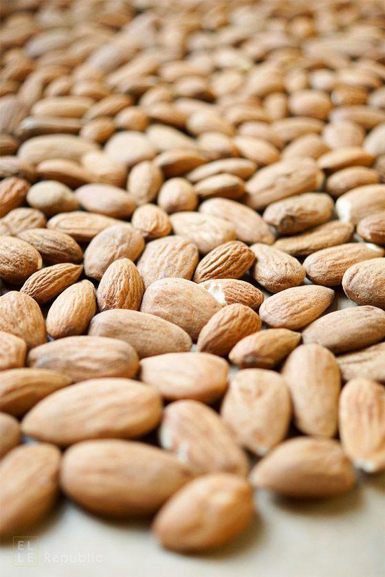 Mandeln,,  Abnehmen mit natürlichen Lebensmitteln