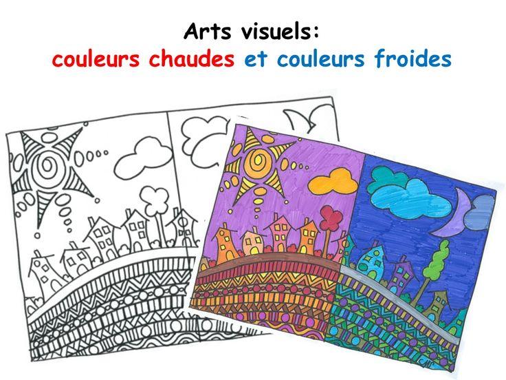Les 295 meilleures images propos de primaire arts du - Peinture couleurs chaudes ...