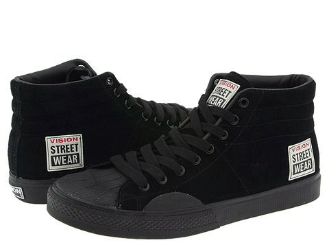 The freestyle shoe of choice back in the day among freestylers, skaters & hipster poseurs...Vision Streetwear!
