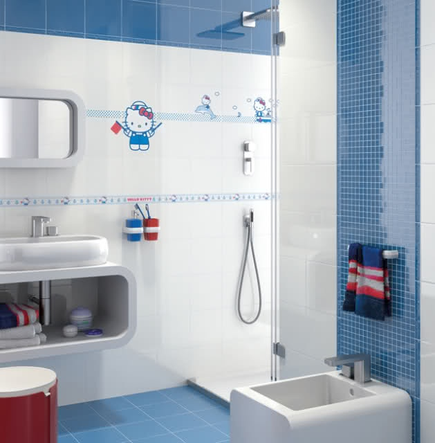 images about hello kitty bathroom on, Bathrooms