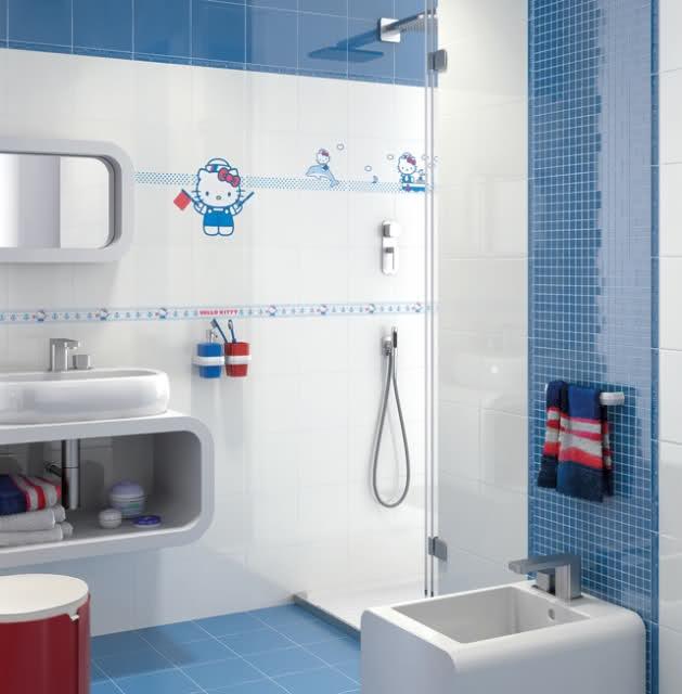 Elegant Hello Kitty Tile  Modern  By American Tile And StoneBacksplashtogo