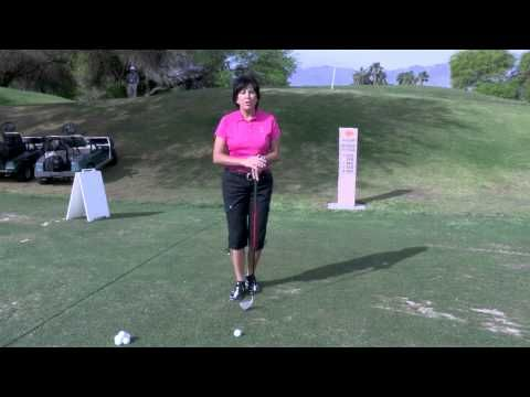LPGA Learning Center: Hitting the low shot - YouTube #lpga #lpgaseewhy #golf #golftip