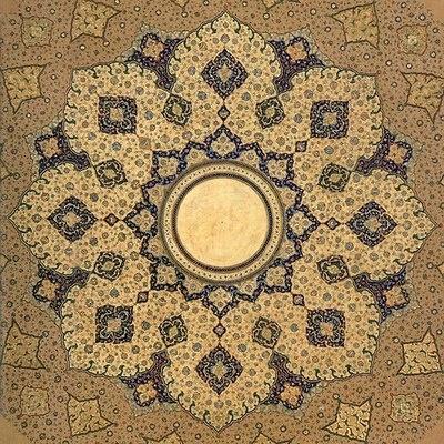 """Mughal shamsas (""""suns"""")."""
