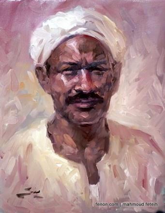 mahmoud feteih art egypt fenon.com