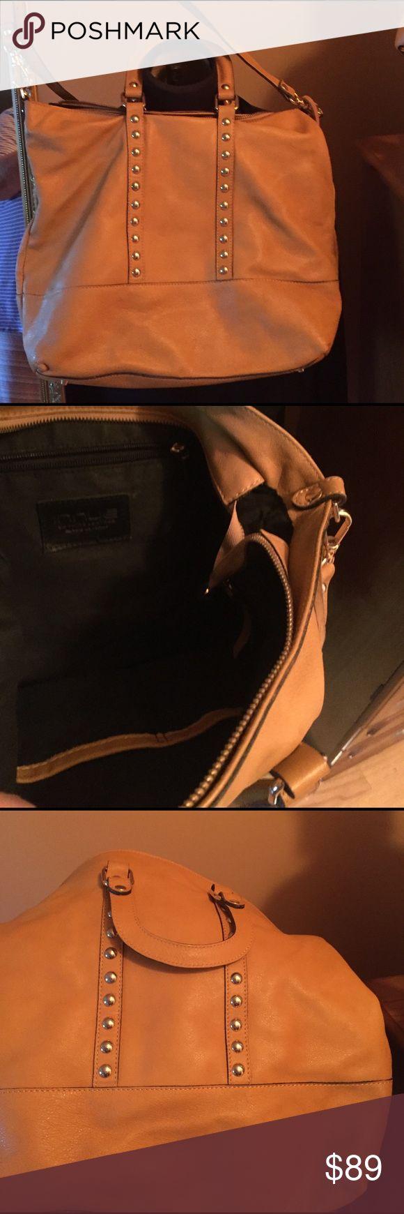 Camel genuine leather bag Italian soft leather camel bag immue Bags Shoulder Bags