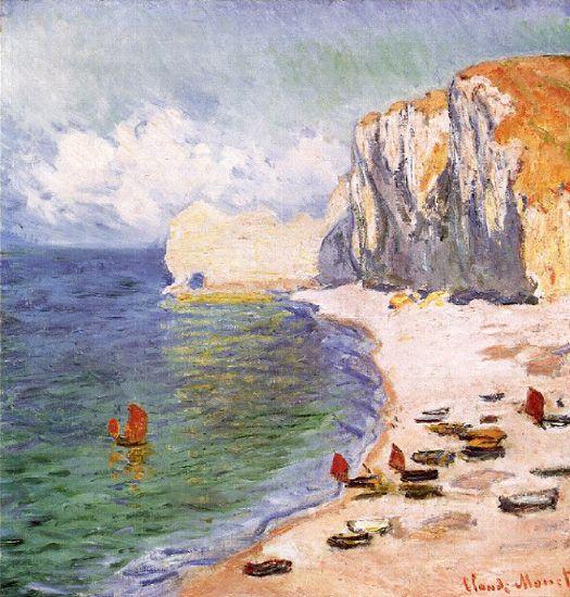 Claude Monet 1840-1926 Paisaje en EtretatClaude Monet