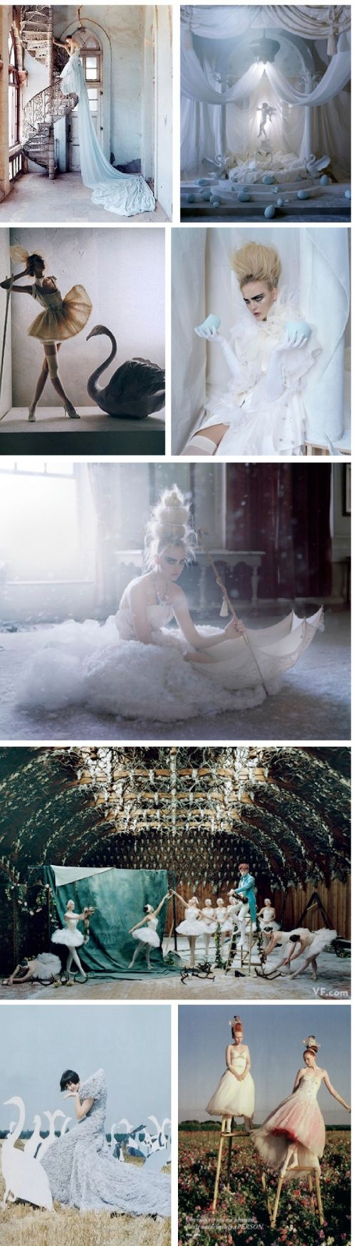 Tim Walker. Because art can be everything you want and need it to be <3 it isn't trapped between the canvas and the paintbrush.