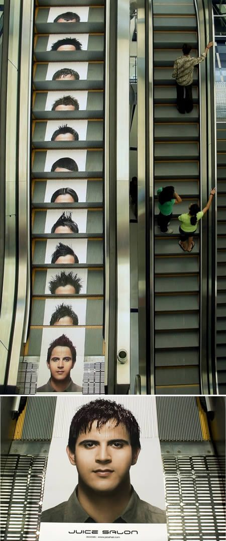 10 Creative Escalator Ads (Escalator Ads) - ODDEE