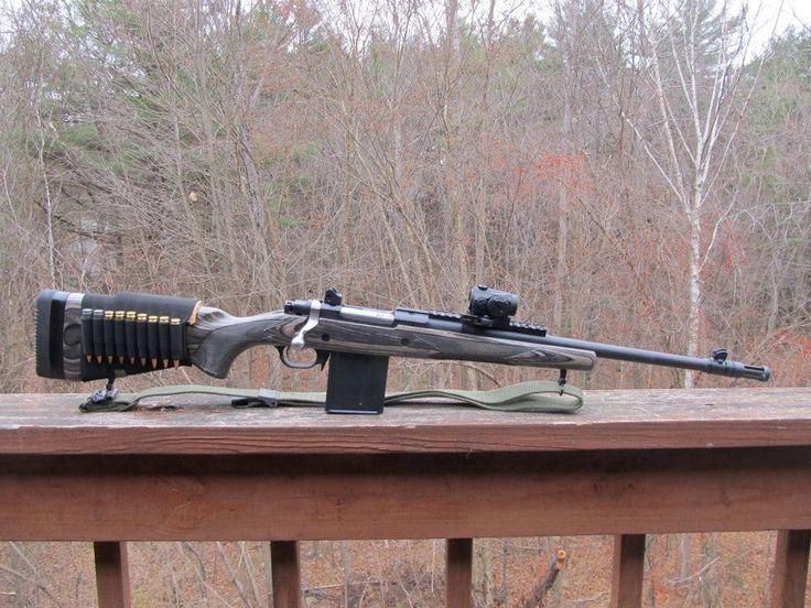 Ruger Gunsite Scout with Leupold VX 2x10 scope