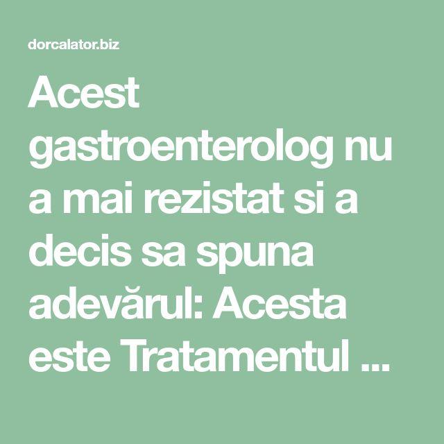 Acest gastroenterolog nu a mai rezistat si a decis sa spuna adevărul: Acesta este Tratamentul pentru gastrită: |