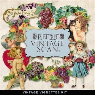 New Freebies Vintage Vignettes