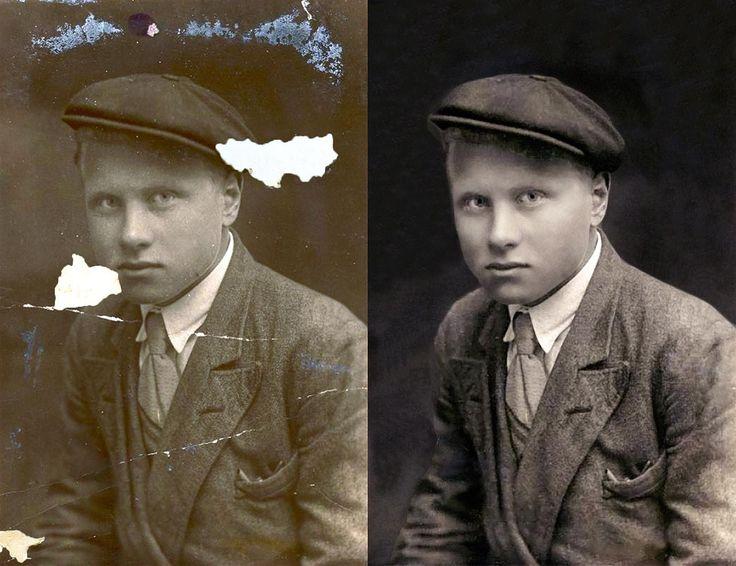 Photo Restoration Family Tree