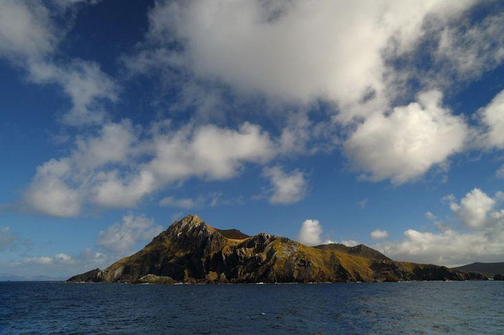 Cabo de Hornos/Cape Horn in calm weather conditions ...