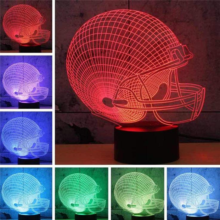light up football target