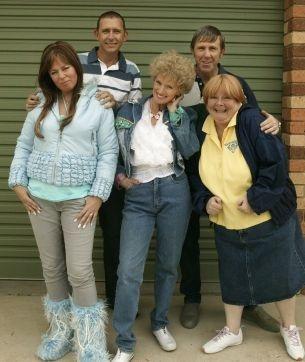 """ Kath & Kim"", Australia's funniest Television comedy."