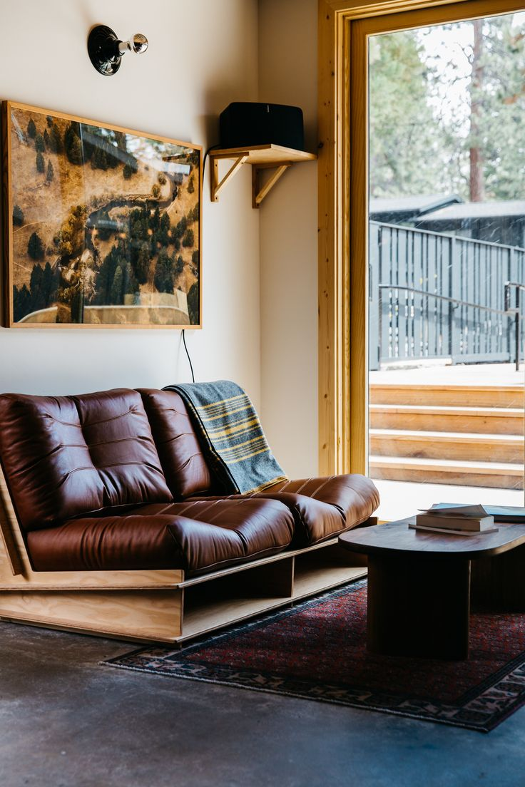 Love the wooden furniture and features ---- The Coachman: The First Stylish Hotel in Lake Tahoe