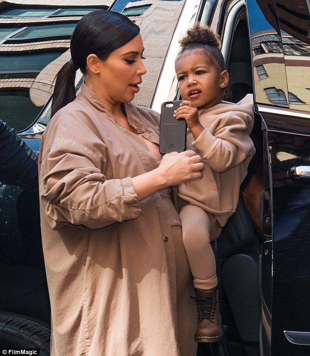 Kim Kardashian Car Seat