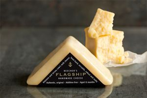 Beecher's Flagship - the sharp kick of Cheddar plus the brown-butter notes of Comte