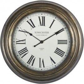 Consett Bronze Wall Clock 35.5cm