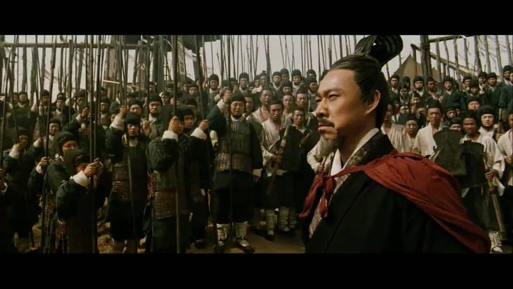 Battle of the Red Cliffs - a theatrical rendition of China's Warring States Period. Includes an oblique reference to Qi Men Dun Jia http://patricialee.me/2014/03/18/what-is-qi-men-dun-jia/  https://www.youtube.com/watch?v=pd0bqLQrtdE