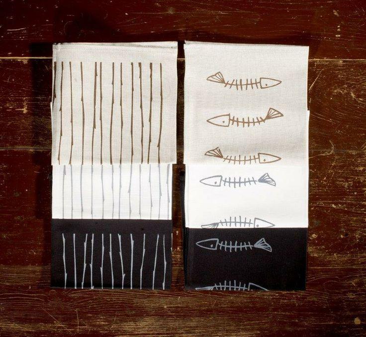 Tyylikkäät pyyhkeet by Design Pylsy.