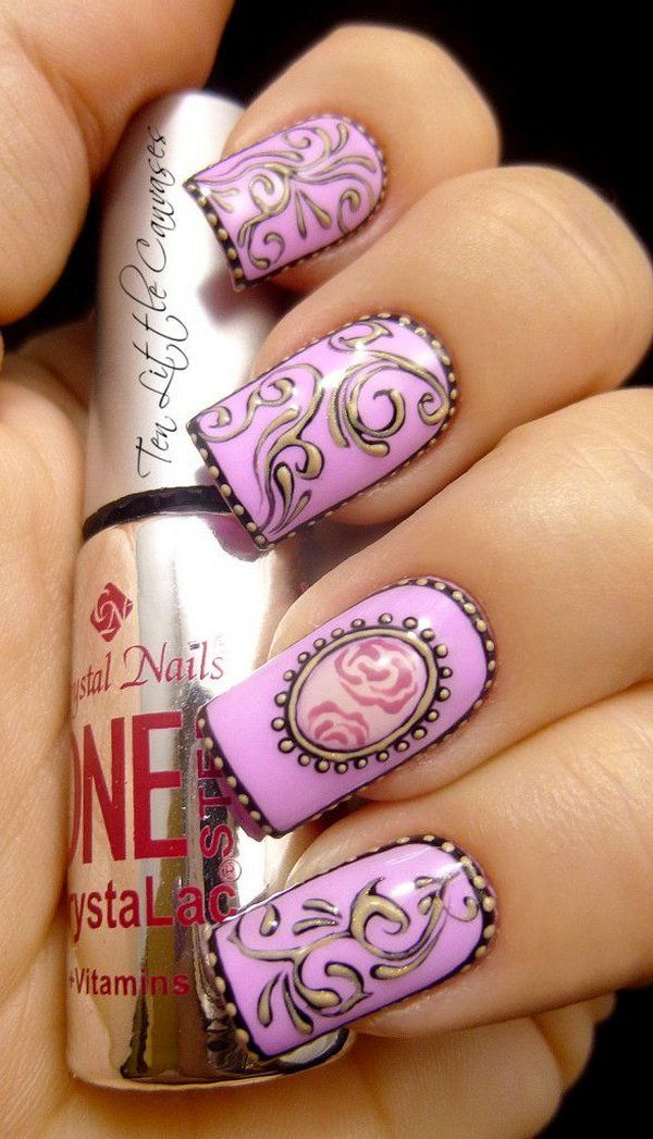 Arte en uñas!!