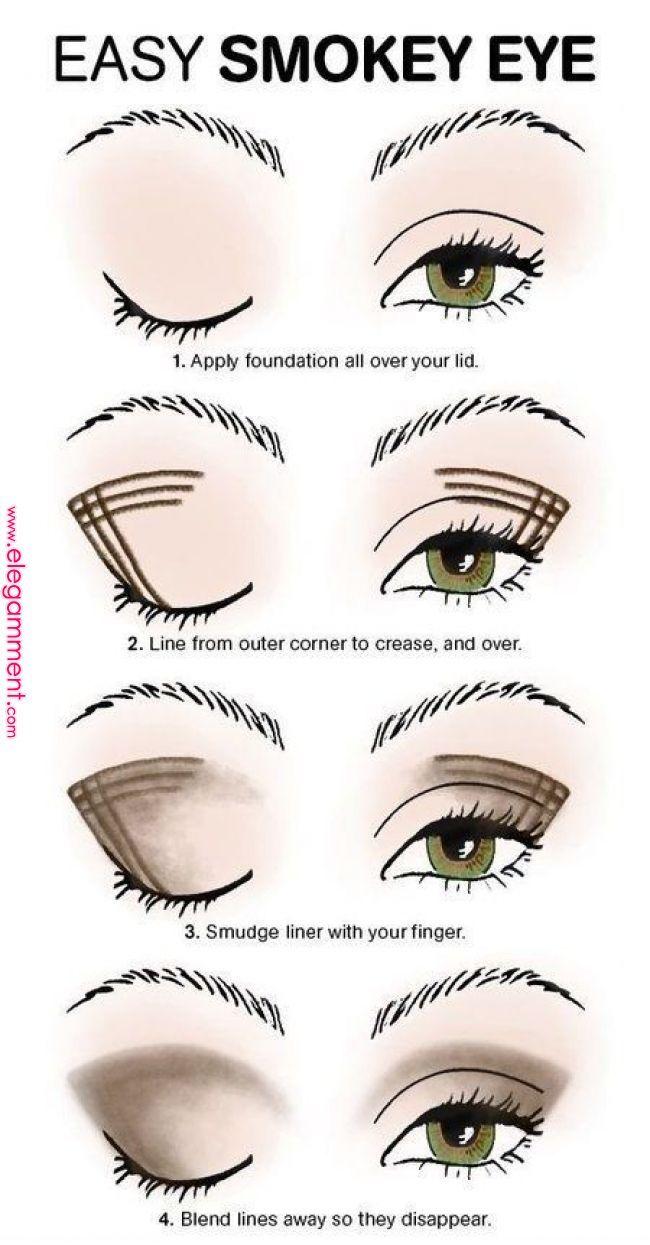 pin by mitchelle espinosa on make up | smokey eye makeup