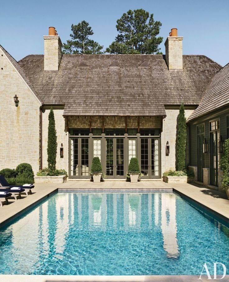 Traditional Garden With Pool: 17 Best Images About Design: Pools & Water Features On