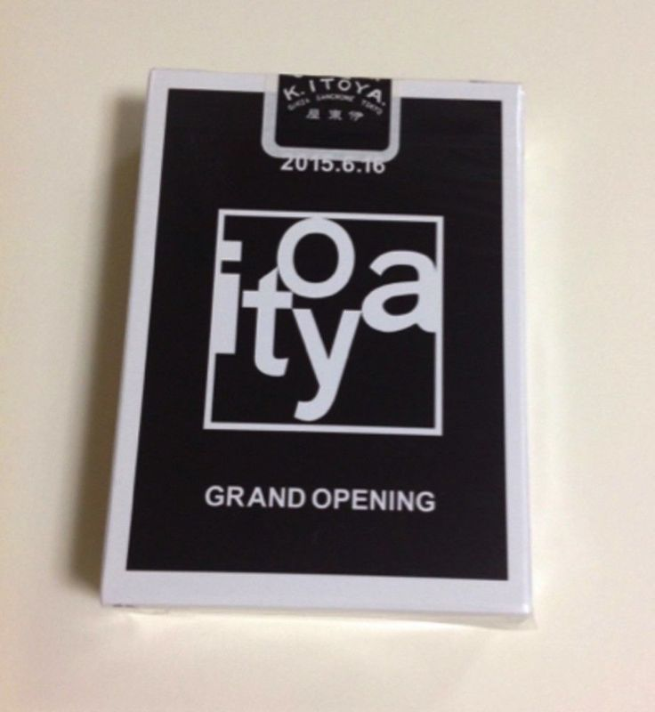 New RARE Ginza Itoya Grand Opening Memorial Bicycle Deck of Playing Cards Japan | eBay