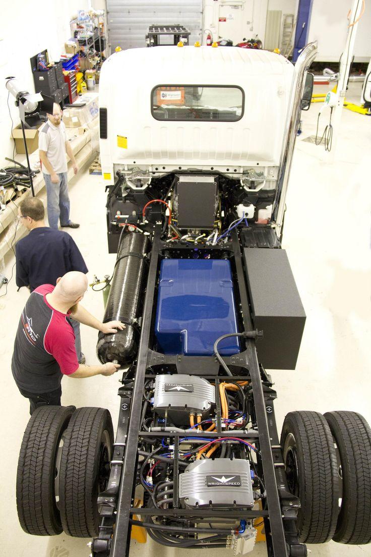 Wrightspeed Turbine Range Extended Electric Powertrain In