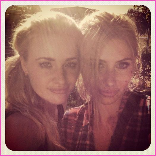 Aly And AJ Michalka Album Update June 18, 2012