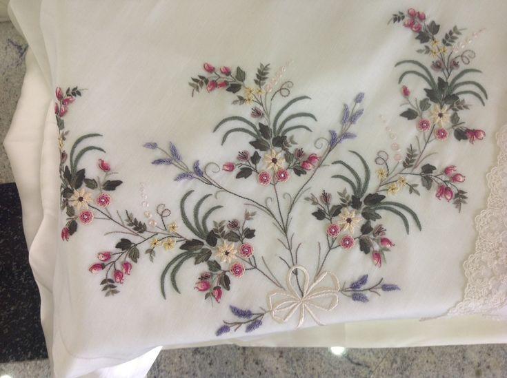 Brazilian embroidery project by Beyza Ergüney From Istanbul, Turkey