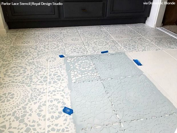 Bathroom Floor Paint : Ideas about painted bathroom floors on