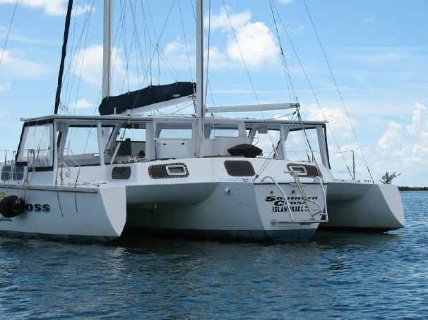 1975 Norman Cross Trimaran Sail Boat For Sale - www ...