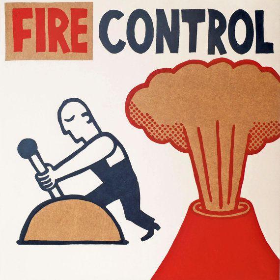 control de fuego por ARTeFAKTshop en Etsy