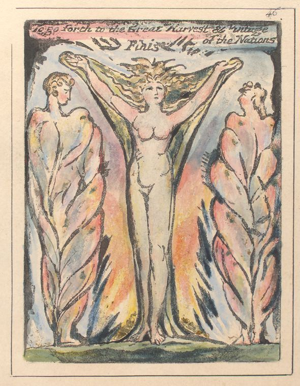 William Blake To go forth to the Great Harvest