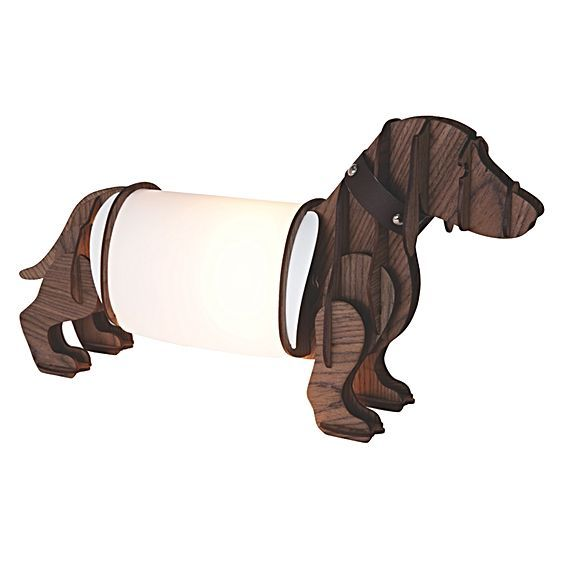 Long Doggy Table Lamp by Micky & Stevie