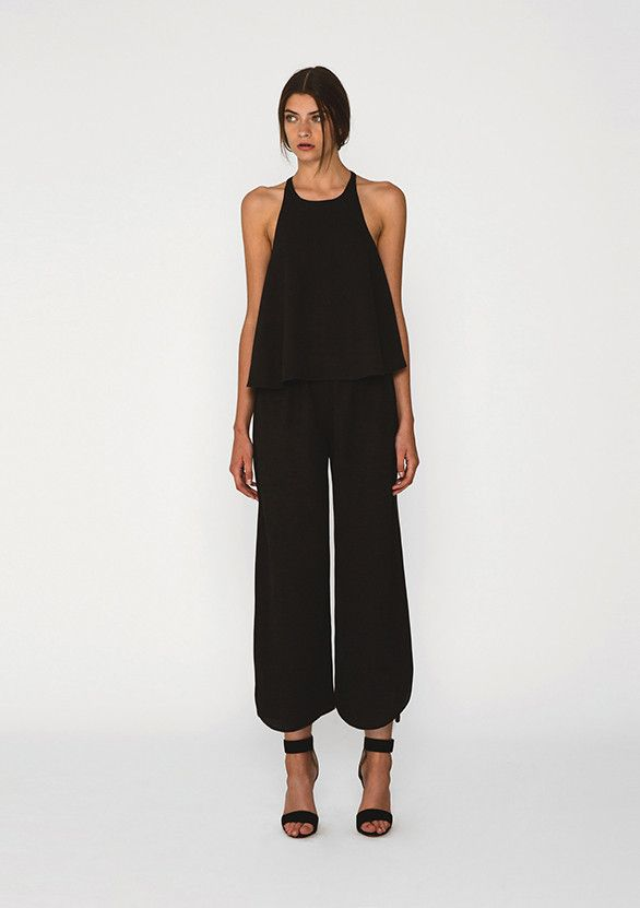 THE FIFTH - Satisfaction Top In Black