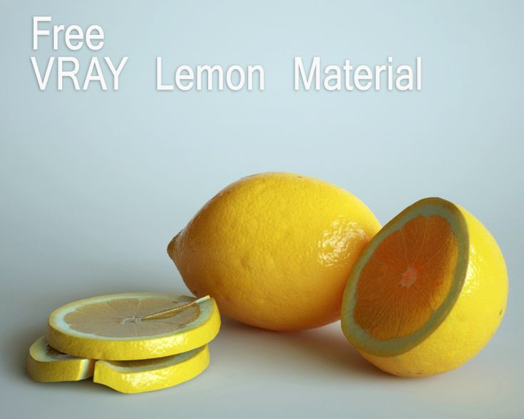 free vray lemon material by opengraphics.deviantart.com on @deviantART