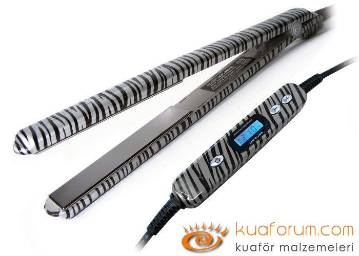 C2 Platinum Zebra Corioliss Düzleştirici Saç Maşası