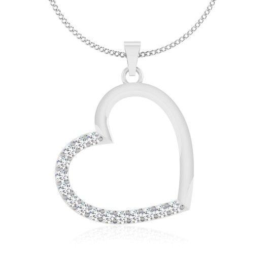 The Soumita Diamond Pendant P-0002YG