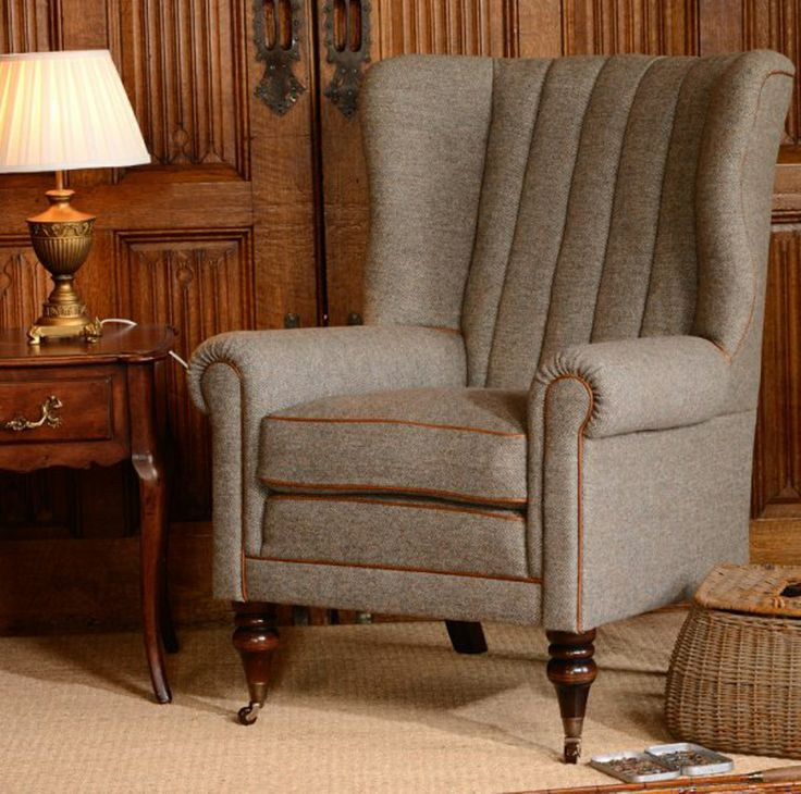 Attractive Tetrad Upholstery Harris Tweed Dunmore Chair From Kings Interiors Who Are  The Ideal Place To Buy Furniture And Flooring.
