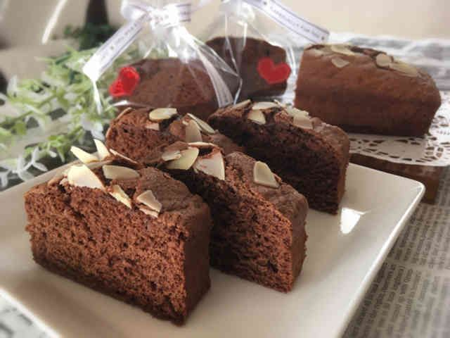 HM♡軽めのチョコケーキ/バレンタイン♪