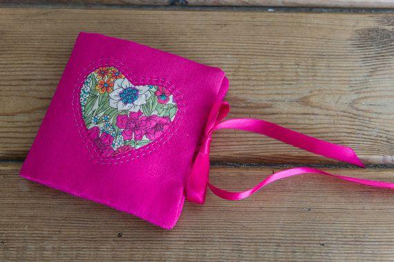 Liberty Love sewing case or kit hand by CrimsonRabbitBurrow