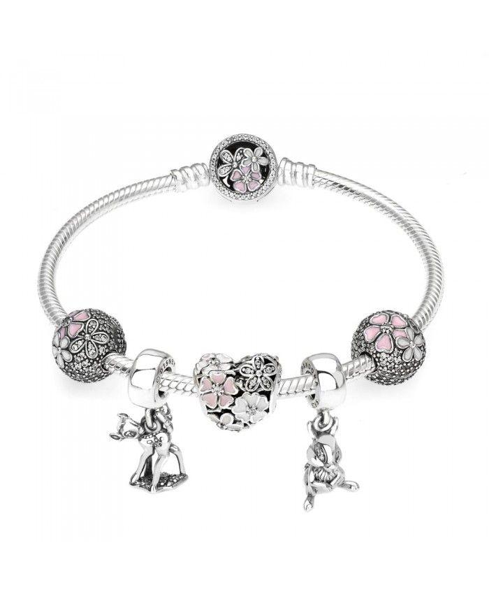 e5d755af0 Pandora Disney Bambi Fleurs Bracelet | pandora bracelets in 2019 ...