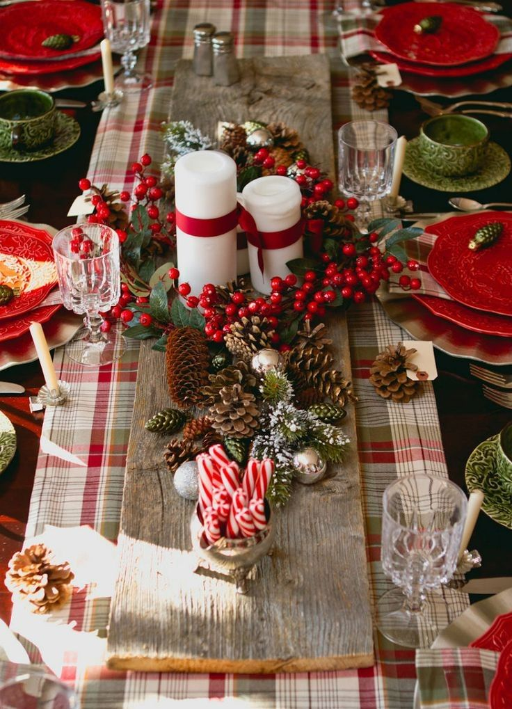 украшение праздничного новогоднего стола