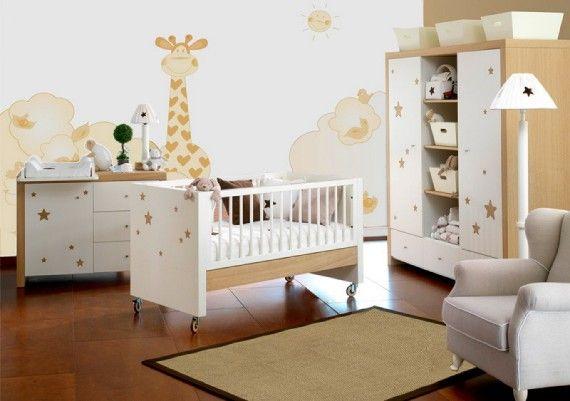 decoracion cuarto bebe 2 Decoración del cuarto del bebé