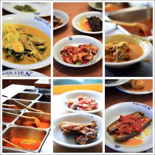 Nasi Padang (West Sumatra Food)