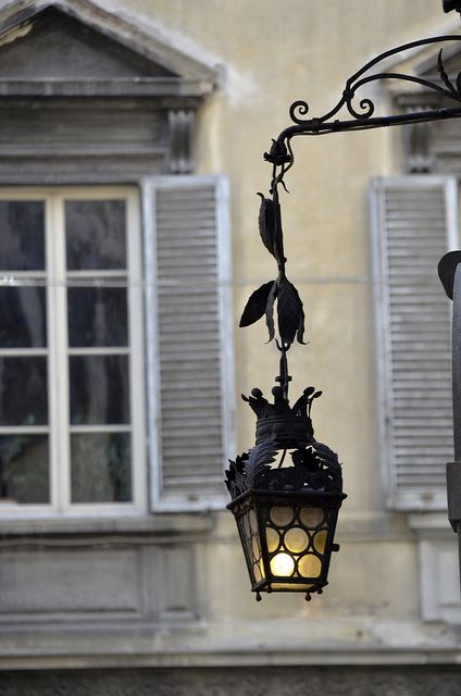 Beautiful street lamp of Florence, Italy by SpirosK photography, via Flickr