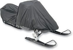 Snowmobile cover for Polaris Gemini 1979 to 1981 snowmobiles. Comes in universal fit variety.